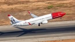Самолет вернулся вСтокгольм из-за сообщения обомбе