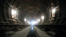 Строители петербургского метро устроили забастовку вшахте