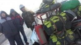 Экстремальные морозы вСибири едва непогубили путешественников