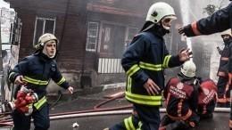 ВСтамбуле разбился военный вертолет— страшные кадры сместа