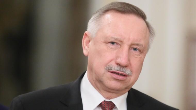 Глава Петербурга Беглов выразил соболезнования всвязи сосмертью Захарова