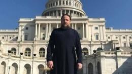 Депортированный епископ Гедеон опубликовал видеообращение изсамолета