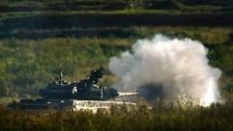 Видео испытаний новейшего российского танка Т-90МС