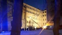«Изокон вынули девушку»: Очевидец рассказала обобрушении крыши здания ИТМО