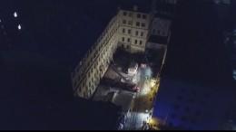 СК: Уголовное дело возбуждено пофакту обрушения крыши здания ИТМО вПетербурге