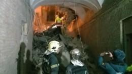 Глава МЧС России вылетел вПетербург наместо обрушения кровли университета ИТМО