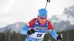 Биатлонистка Васнецова удалилась изInstagram после перепалки сболельщиками