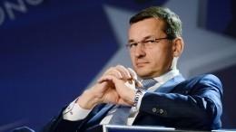 Премьер-министр Польши отменил поездку вИзраиль из-за заявлений Нетаньяху