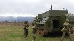 Российские военные отразили атаку беспилотников условного противника вАбхазии