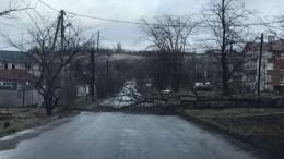 Режим ЧСввели вСтаврополе из-за разбушевавшегося урагана— фото