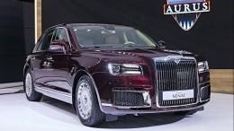 Видео: Российский лимузин Aurus представили навыставке вОАЭ