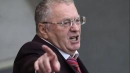 «Выгнать немедленно!» Жириновский припомнил Сергею Лазареву слова про Крым