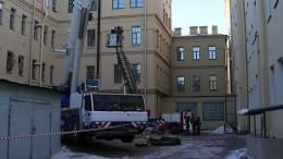 ВПетербурге приступили кразбору завала вучебном корпусе университета ИТМО