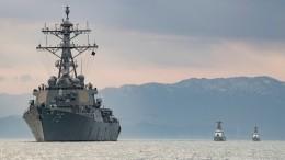 Эсминец ВМС США «Дональд Кук» второй раз сначала года зашел вЧерное море