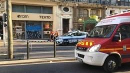 Мужчина, вооруженный ножом, ранил четырех человек вМарселе— видео