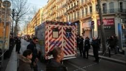 Напавший сножом напрохожих вМарселе скончался отогнестрельных ранений