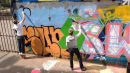 «Мысделали первый шаг»: Депутат ЗакСа Петербурга олегализации граффити