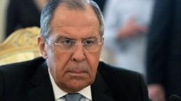Лавров: Киев хочет использовать НАТО для прорыва через Керченский пролив