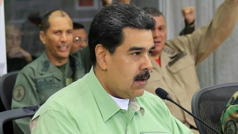 США доставили кгранице Венесуэлы гумпомощь, окоторой Николас Мадуро непросил