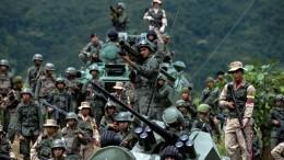 Мадуро приказал развернуть Вооруженные силы награнице сКолумбией