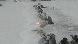 Военно-историческая реконструкция «Огненный лед» прошла вПетербурге