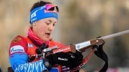 Биатлонистка Юрлова-Перхт выиграла гонку преследования начемпионате Европы