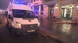 Видео: Пострадавший всмертельной аварии наНевском рассказал опроизошедшем