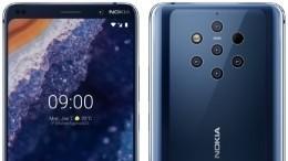 Впервые вмире! Nokia представила смартфон спятью камерами
