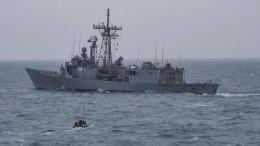 Эсминец ВМС США с«томагавками» зашел вБалтийское море— фото