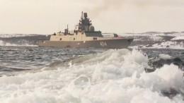Фрегат «Адмирал Горшков» впервые повел отряд ВМФ вдальний поход