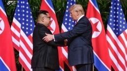 Переговоры Трампа иКим Чен Ына оказались под угрозой