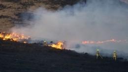 Видео: «Апокалиптический» природный пожар произошел насевере Англии