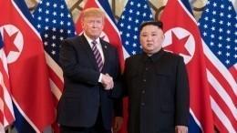 Санкции остаются: Трамп иКим Чен Ындосрочно завершили переговоры вХаное
