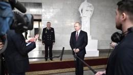 Путин выразил уверенность вскором разгроме терроризма вСирии