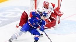 СКА сенсационно проигрывает всерии плей-офф московскому «Спартаку»
