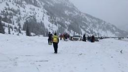 Видео: Снежные лавины накрыли шоссе савтомобилями вСША