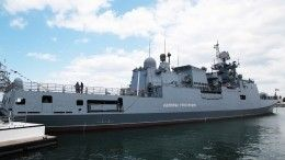 Военнослужащий погиб нафрегате «Адмирал Григорович»