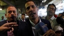 Гуайдо вернулся вВенесуэлу после указания Болтона
