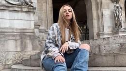 Катя Кищук, пошутившая про съемки впорно, показала новую «рабочую одежду»