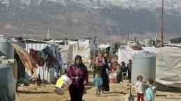 ВООН обратились спросьбой ликвидировать лагерь «Рукбан» награнице сИорданией