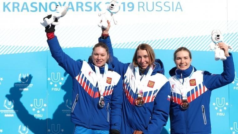 Сборная России побила рекорд поколичеству медалей наУниверсиаде