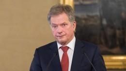 Финский президент одобрил отставку правительства