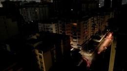 Отключение электричества произошло впосольской зоне Каракаса