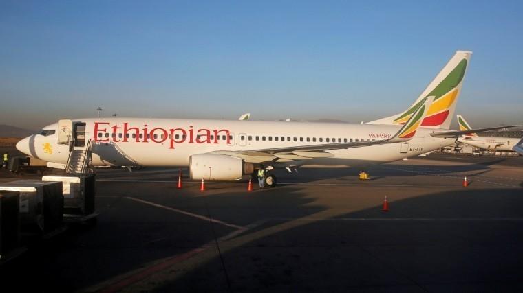 Пассажирский самолет эфиопской авиакомпании потерпел крушение