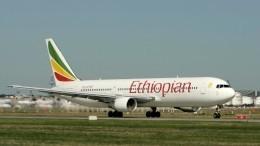 Фото: первые кадры сместа крушения самолета вЭфиопии
