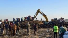 11марта объявлен днем траура вЭфиопии всвязи скрушением Boeing 737