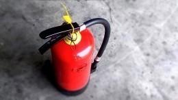 Лайфхак: Как накачать колесо спомощью огнетушителя