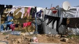 Всирийском лагере Эр-Рукбан обнаружены новые массовые захоронения