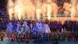 Видео: ВКрасноярске прошла церемония закрытия Универсиады-2019