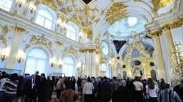 Домовая церковь императорской семьи вЗимнем дворце— видео